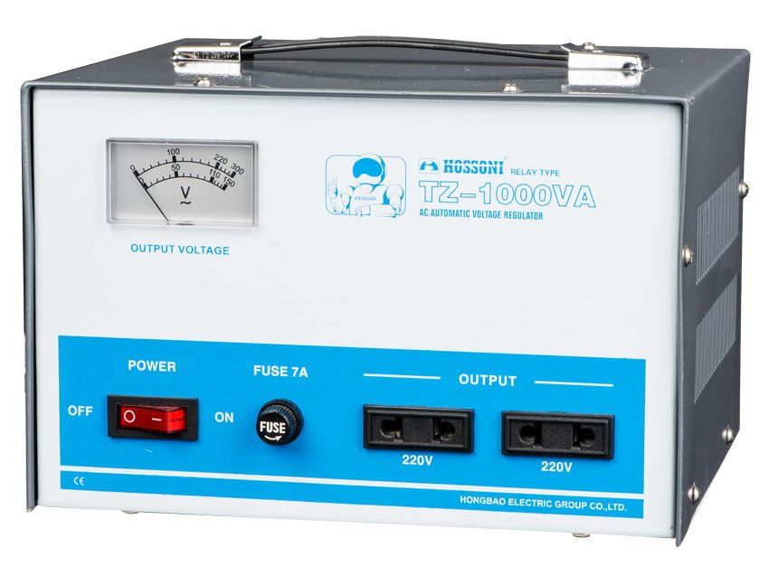 TZ series (Relay Type) Single Phase Voltage Stabilizer