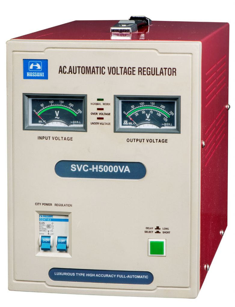 SVC-H(Luxurious Type)High Accuracy Full-Automatic AC Voltage Stabilizer