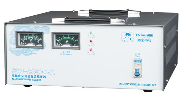 SVC-S (super-thin type) High Accuracy Full-Automatic AC Voltage Stabilizer
