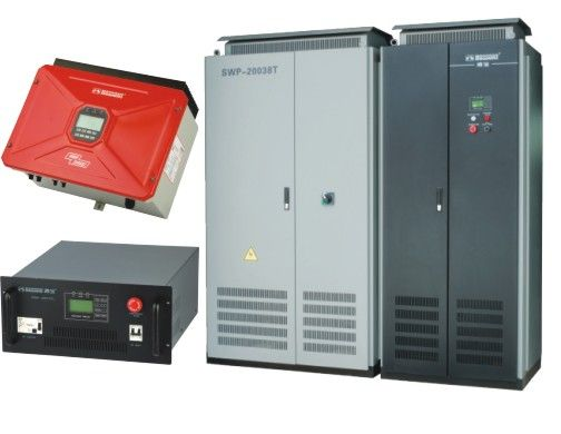 Solar/Wind Power Grid-Connected Inverter
