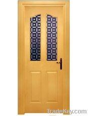American Door with Window