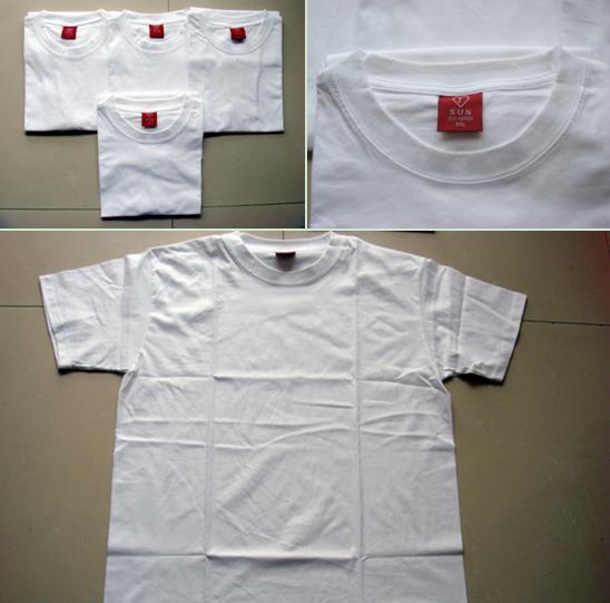 PLAIN ROUND T-SHIRTS/PLAIN V-NECK T-SHIRTS