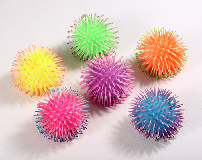 puffer ball, animal ball, squeeze ball, squishy ball, flashing toy