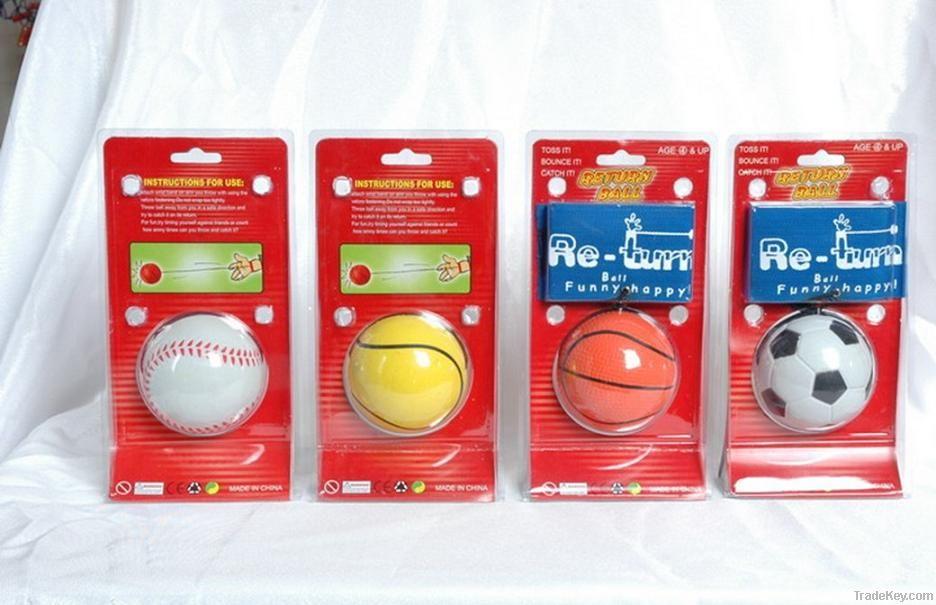 Hand rubber ball, wrist rubber ball, Hollow rubber ball