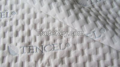 double jacquard knitting mattress fabric