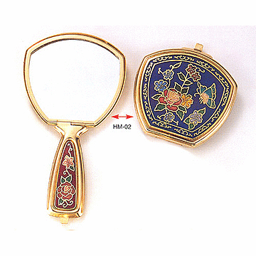Cloisonne Cosmetic Mirrors