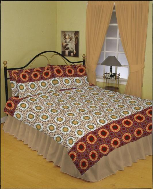Bed Set Cotton Poly/Cotton