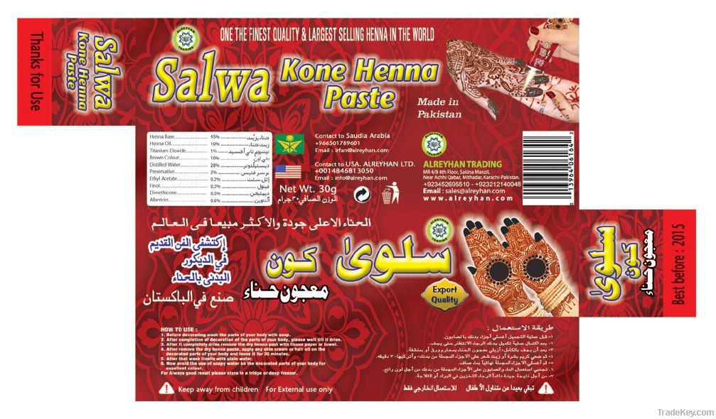 salwa henna kon pest
