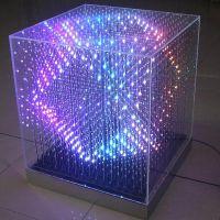 3D LED light box