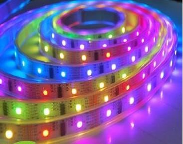 LED flexible ribbon strip RGB full color