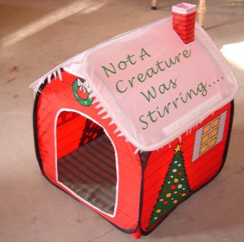 Fancy Pet Tent
