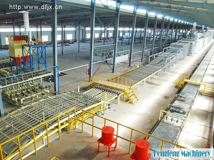 Gypsum Plasterboard Production Machine With Skillful Technicians