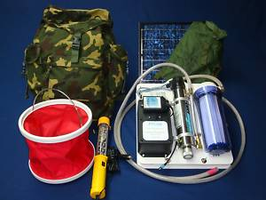 Backpack Water Purification System/Generator