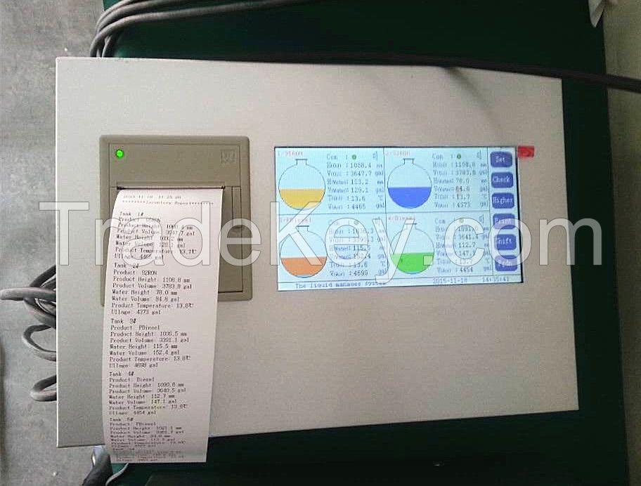 Petrol station diesel gasonline measuring instruments diesel fuel tank level gauge