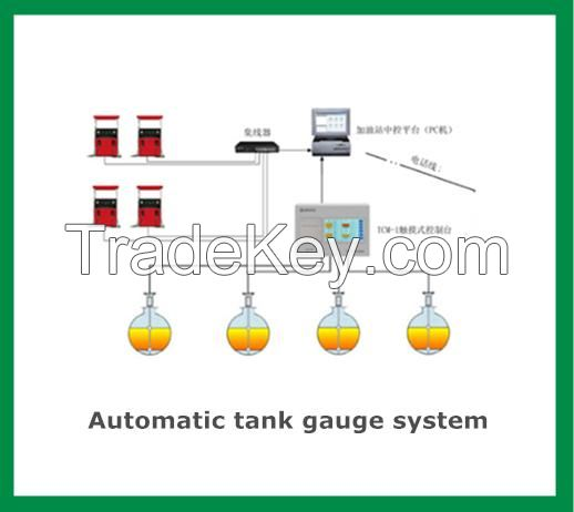 Fuel petrol station management system automatic tank gauge ATGs