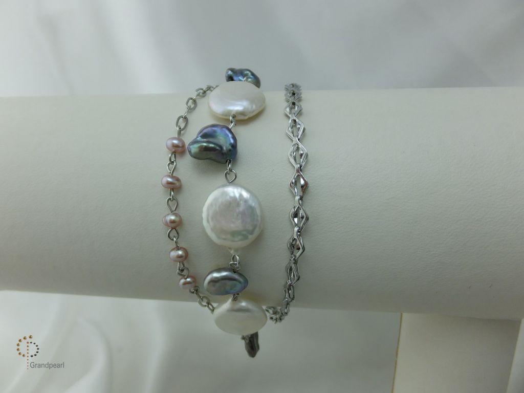 Pearl Chain Bracelet PCB - 005