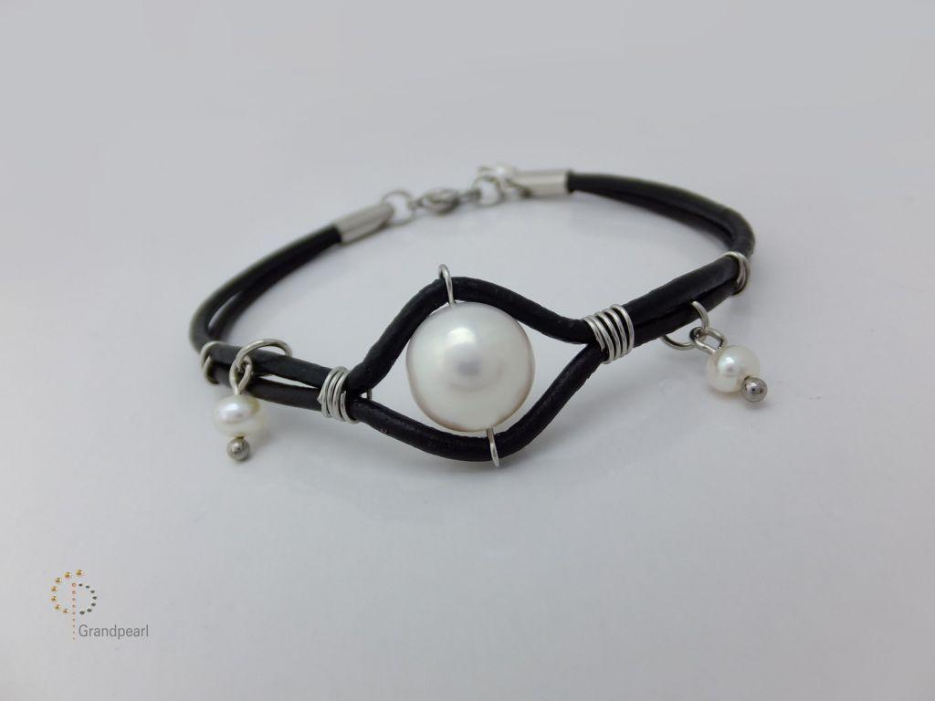 82_Genuine Leather Bracelet PLB010