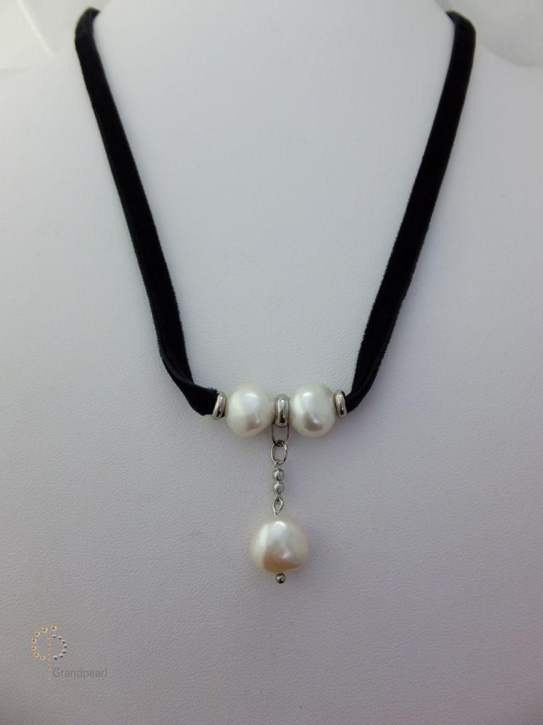 96_Velvet Ribbon Necklace PVN015