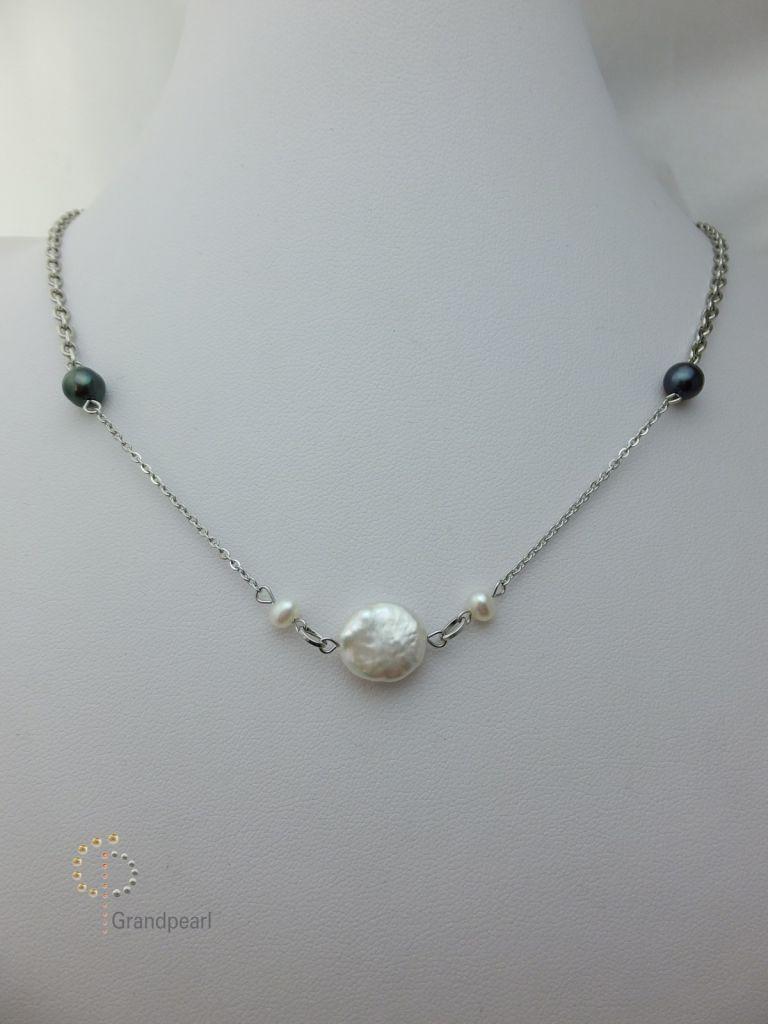102_Pearl Chain 18inch PNB014