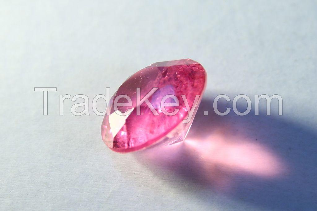 Brilliant-cut Bi-color Doublet Crystal - 04