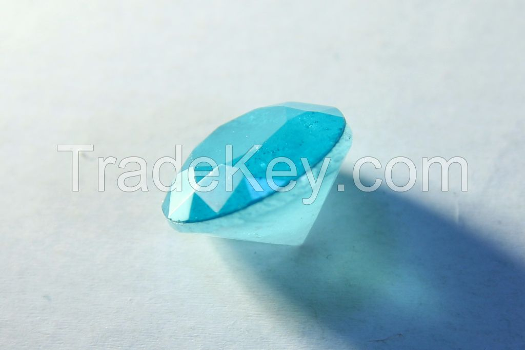 Brilliant-cut Bi-color Doublet Crystal - 02