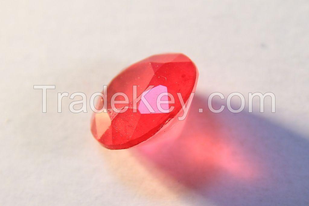 Brilliant-cut Bi-color Doublet Crystal - 03