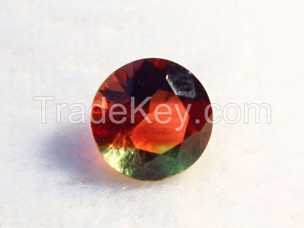 Brilliant-cut Bi-color Doublet Crystal - 07