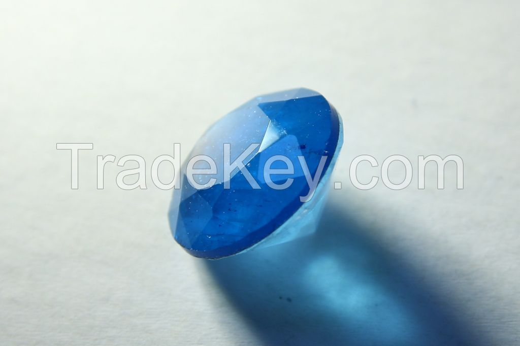 Brilliant-cut Bi-color Doublet Crystal - 05