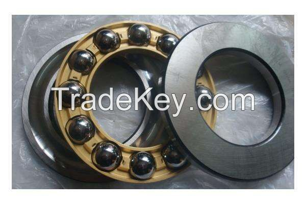High Quality Gcr15 chrome steel Thrust Ball Bearing 51102 With Copper Cage