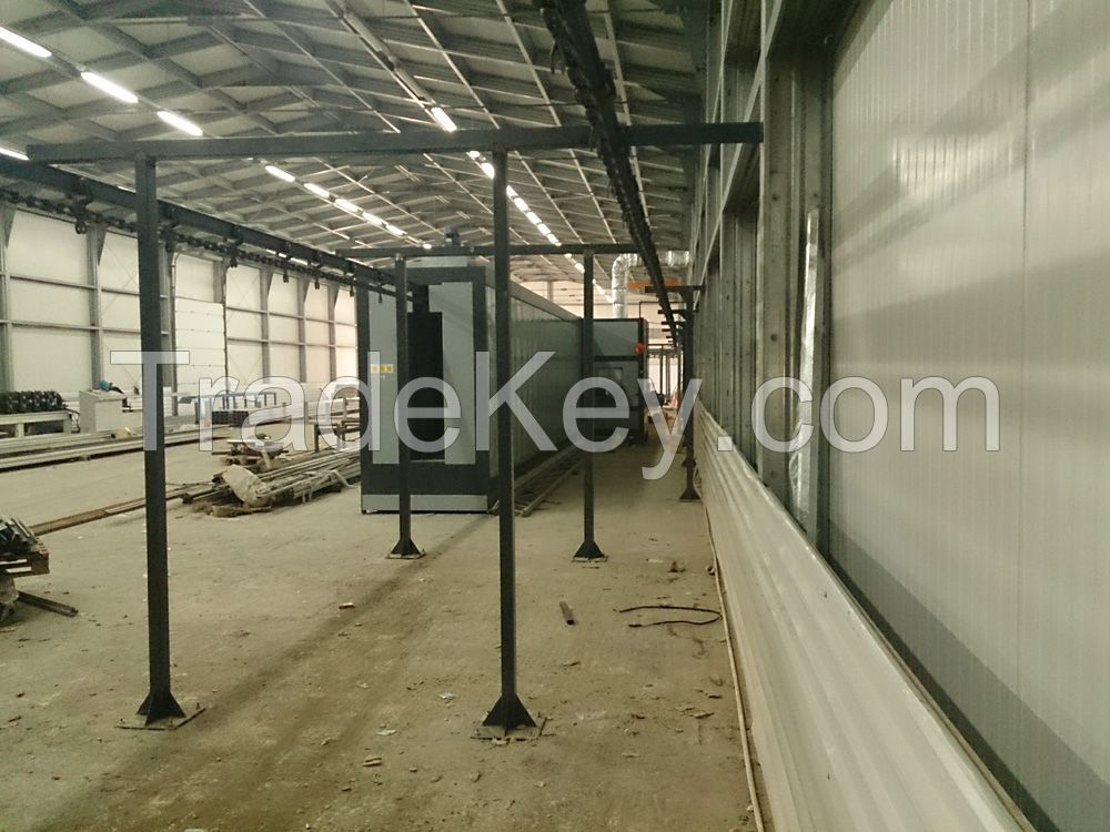 Tunnel Curing Oven