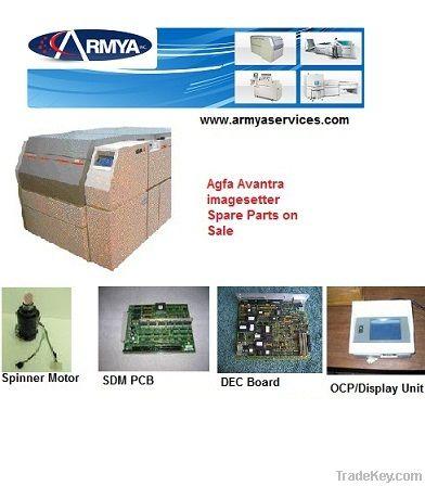 Agfa Avantra Spare Parts