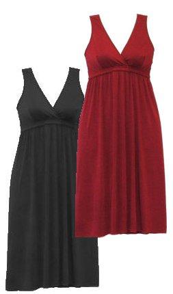 Little Black Dress Nursing Gown