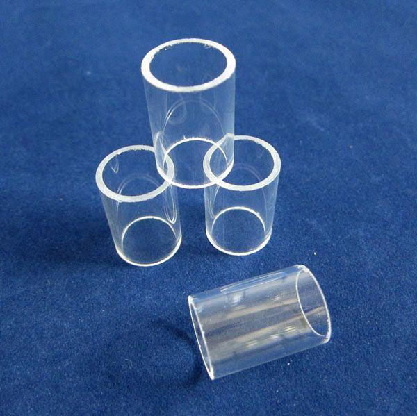 Cutted quartz glass tubes used as quartz sleeve