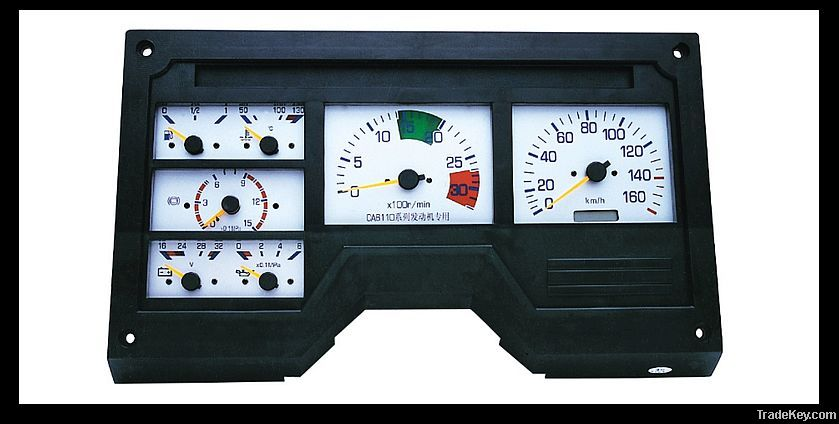 Truck instrument cluster