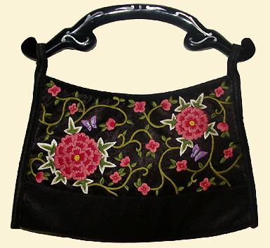 Fashionable embroidery handmade bag