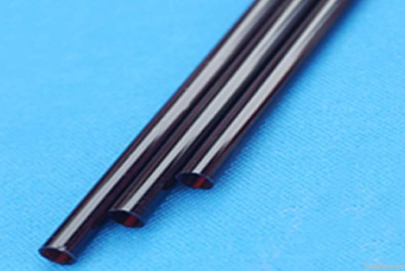 red black quartz tube