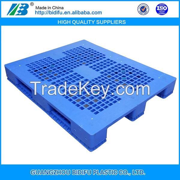 1200x1000 1 ton heavy duty steel reinforced warehouse racking plastic pallet
