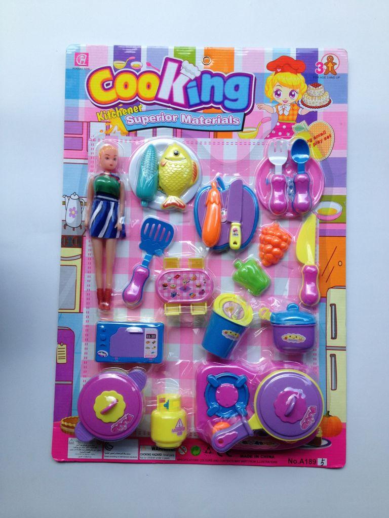 hot sale plastic play toy kitchen set