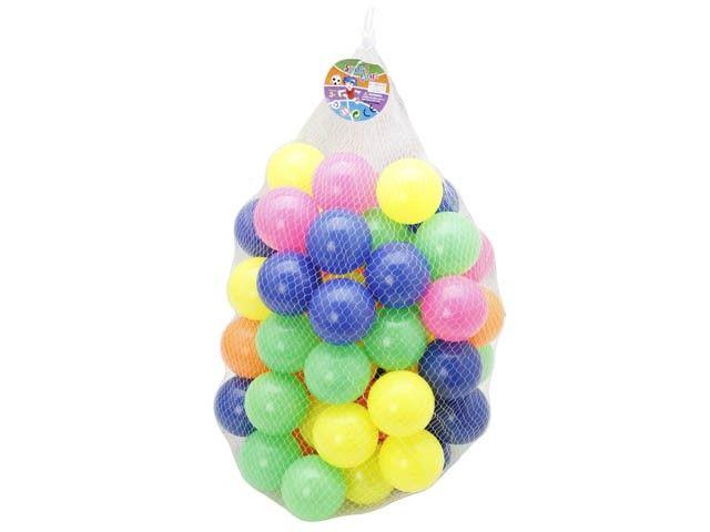 6CM PE plastic color empty ball