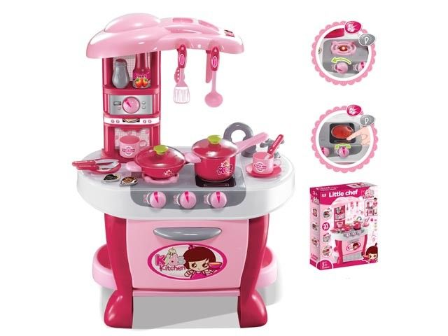 Newest kids play set plastic kitchen toys