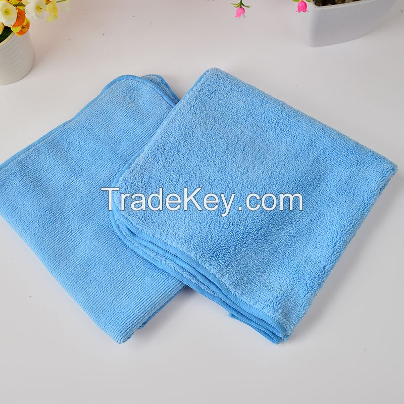 Microfiber Car Cleaning Towels Ultra Thick Car Wax Buffing Cloths