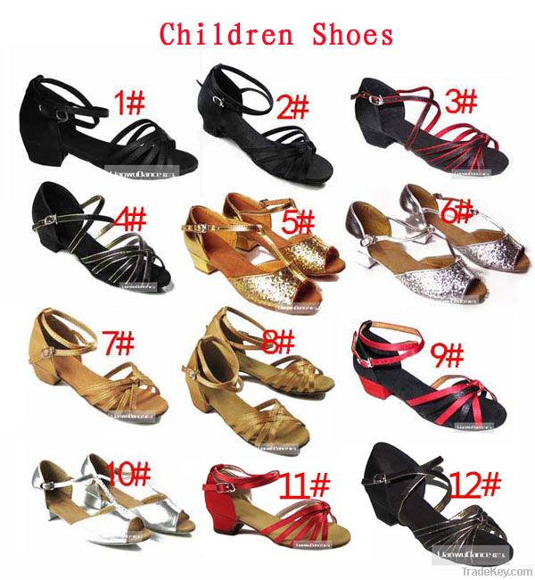 Children dance shoes/dance shoes/ballroom dance shoes