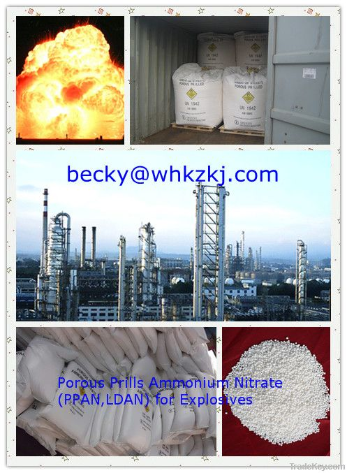 Porous Prills Ammonium Nitrate PPAN ANFO Mine Explosives for Sale