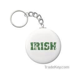 Irish Metal Gift KeyChain