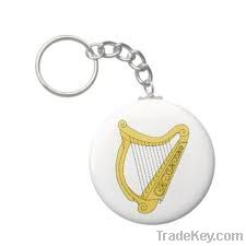 IRISH Harp Key Chain