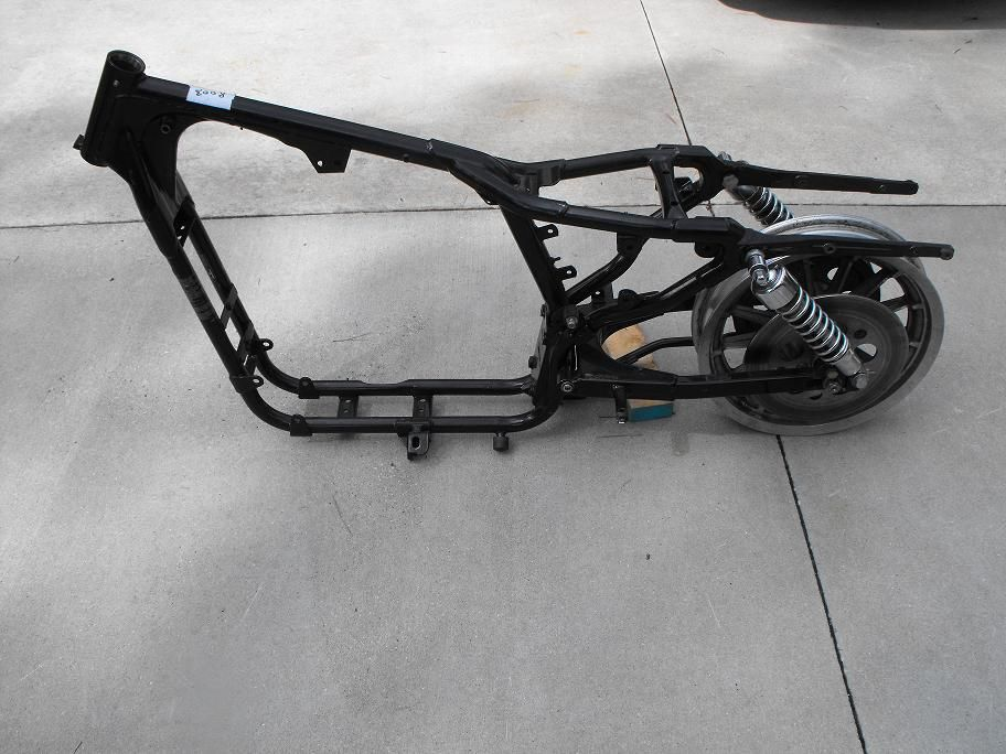 Used Harley-Davidson Frame