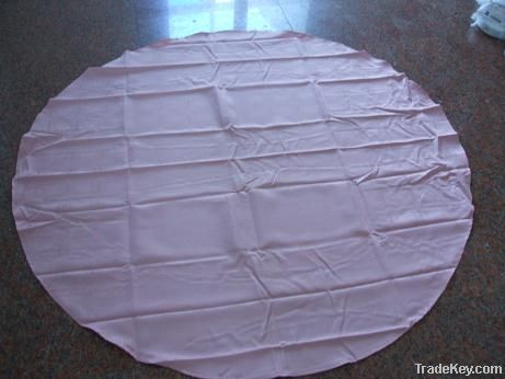100%polyester elegant jacquard pink round table cloth