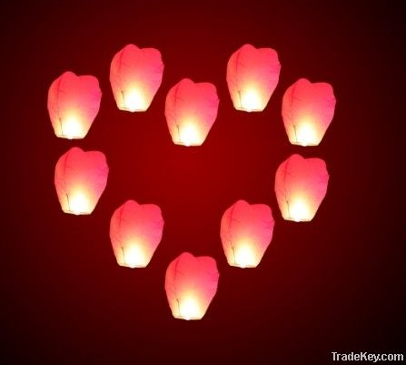 Sky Lanterns, Wishing Lantern fire balloon Chinese Kongming lantern