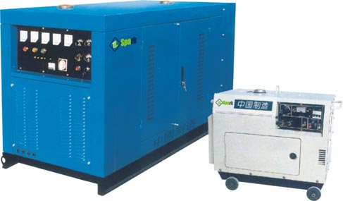 GF3 Series Single-Phase/Three-Phase Mute-Style Diesel Generating Sets