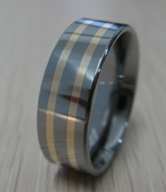 Fashionable Tungsten Rings